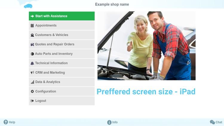 Auto Repair Shop for iPad