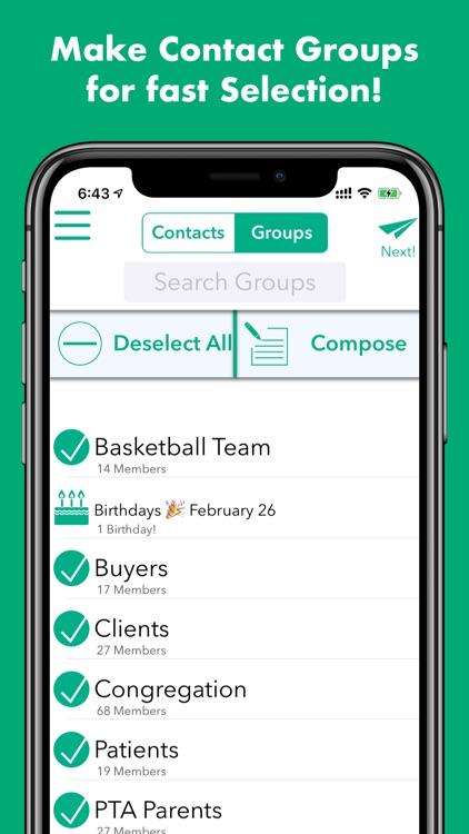 Hit Em Up: Mass Text, Bulk SMS screenshot-4