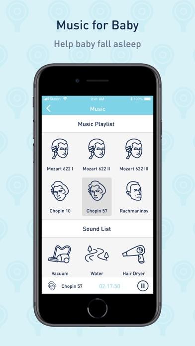 Screenshot #3 pour Lollipop- smart baby monitor