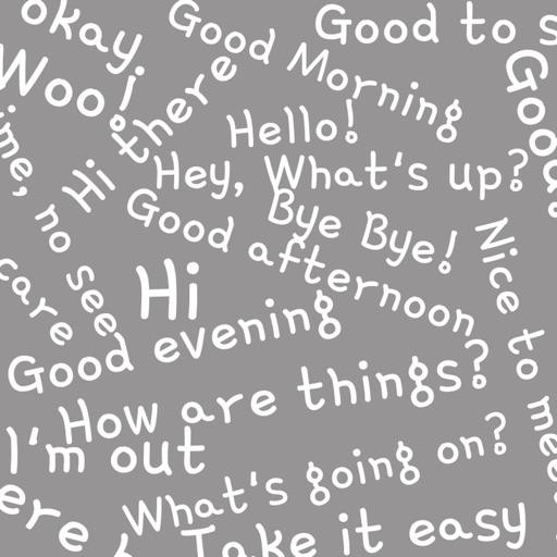 Text animated emoji