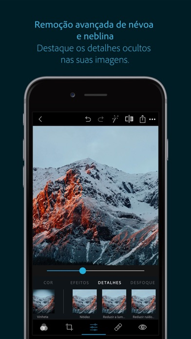 Screenshot for Photoshop Express-Editor foto in Portugal App Store
