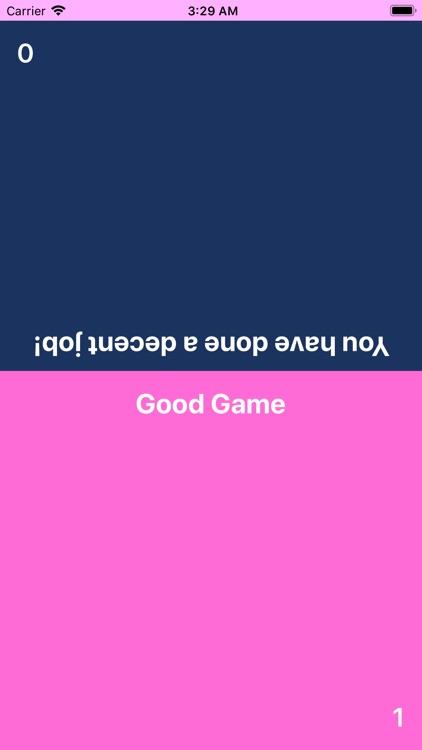 Tap War - simple 2-player game
