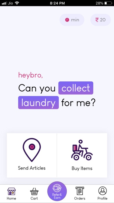 Screenshot for HeyBro(24x7) in United States App Store
