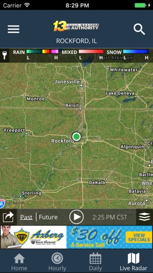 Rockford Weather Map.Wrex Weather On The App Store
