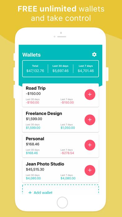 予算と経費のスクリーンショット2