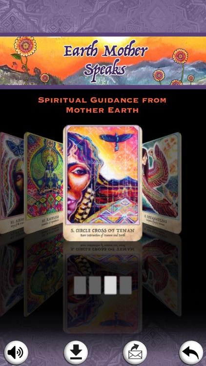 Earth Warriors Oracle Cards screenshot-3