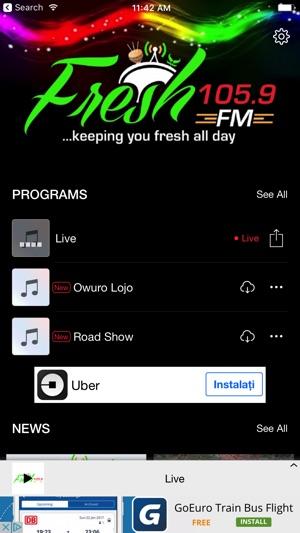 Fresh FM Nigeria on the App Store