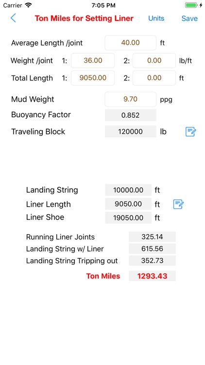 Ton Miles Calculator screenshot-9