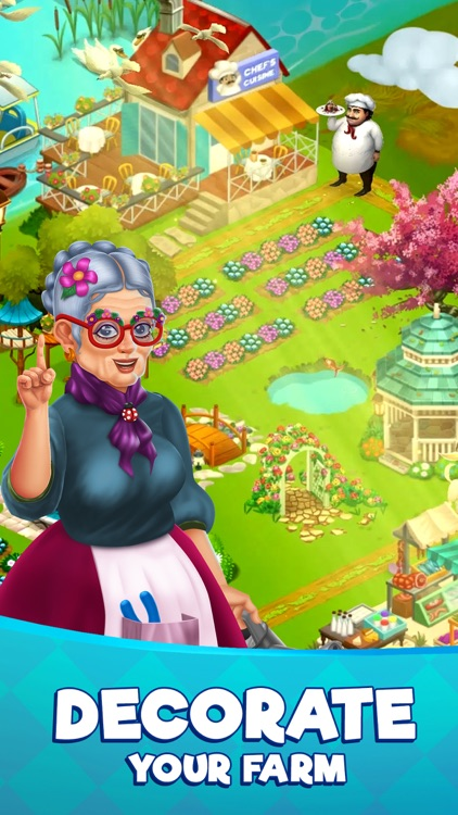 Farm Slam - Match 3 & Build screenshot-3