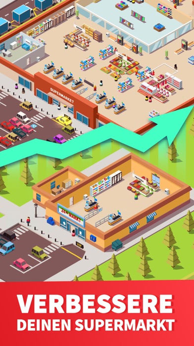 Screenshot for Idle Supermarket Tycoon - Shop in Austria App Store