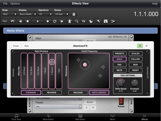 Atomizer AUv3 Plugin screenshot 8