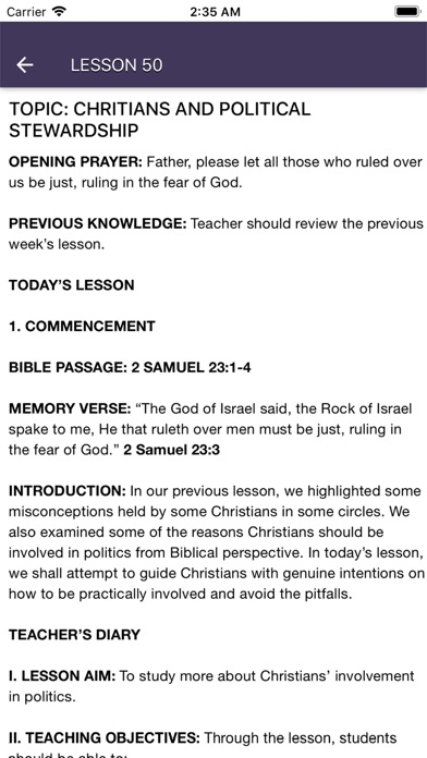 Screenshot for RCCG SSUK 2018 2019 TEACHER in Indonesia App Store