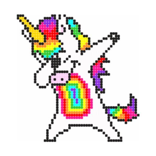Super Pixel: Color by Number
