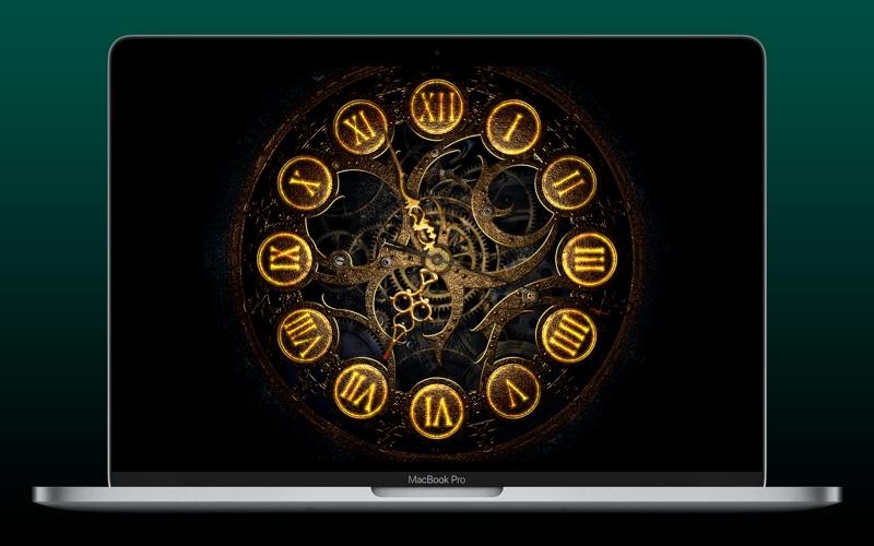 Mechanical Clock 3D Screenshot