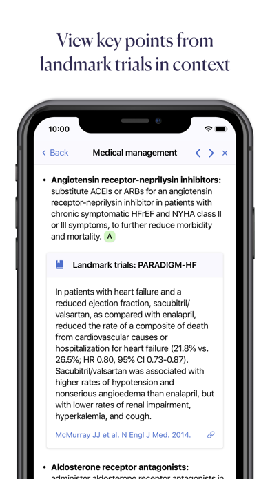 Pathway — Evidence-Based Care Screenshot