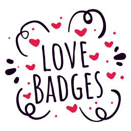 Valentine Love Badges