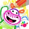 少儿画画游戏婴儿童游戏早教幼儿游戏涂色动物小宝宝3岁-6岁