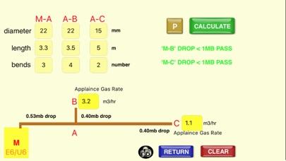 GB Gas Pipe Sizing Calculator screenshot three