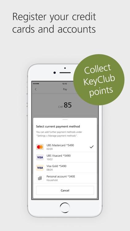 UBS TWINT: Swiss Payment App screenshot-3