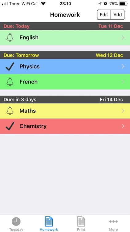 School Timetable screenshot-1