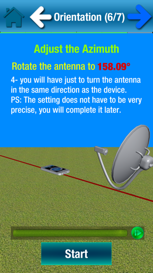 SatCatcher-Dish Set & Pointing on the App Store