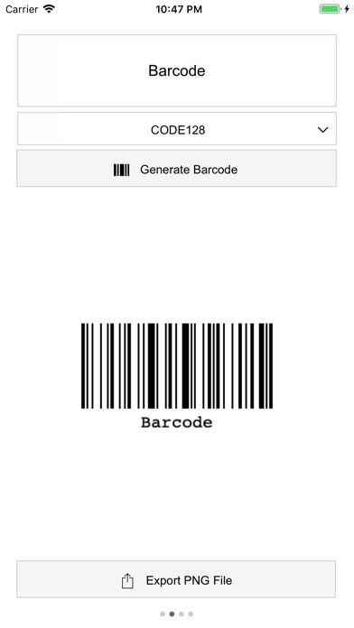 Screenshot for Multi Barcode Generator in Ecuador App Store