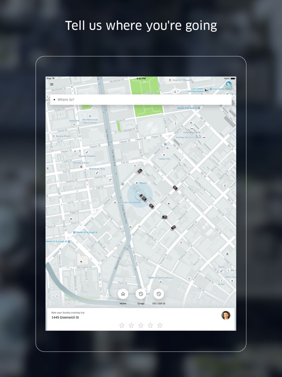 Screenshot #1 for Uber