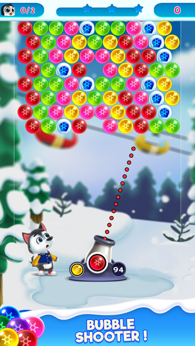 Frozen Pop Bubble-Shooter Game free Gems hack