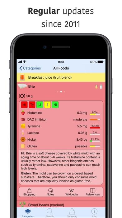 Screenshot for Food Intolerances in United Arab Emirates App Store