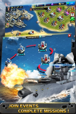 Battle of Warship: War of Navy - náhled