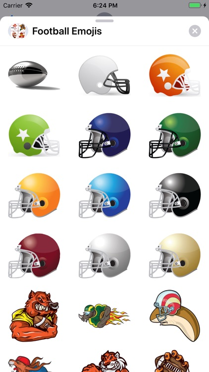 Football Emojis screenshot-4