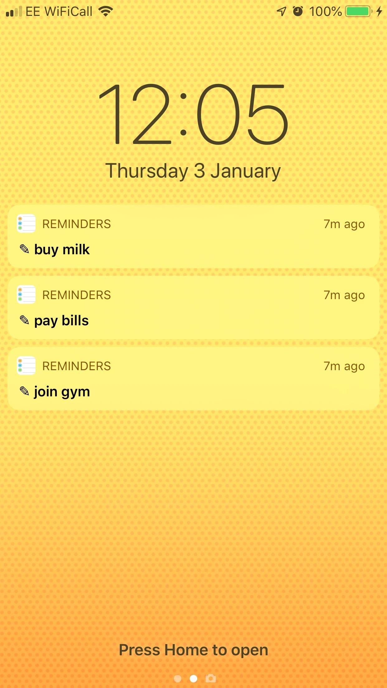 Screenshot do app NoteFace - Lock Screen & Watch