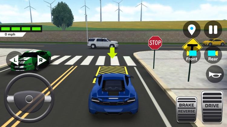 Car Driving School Simulator ! screenshot-4