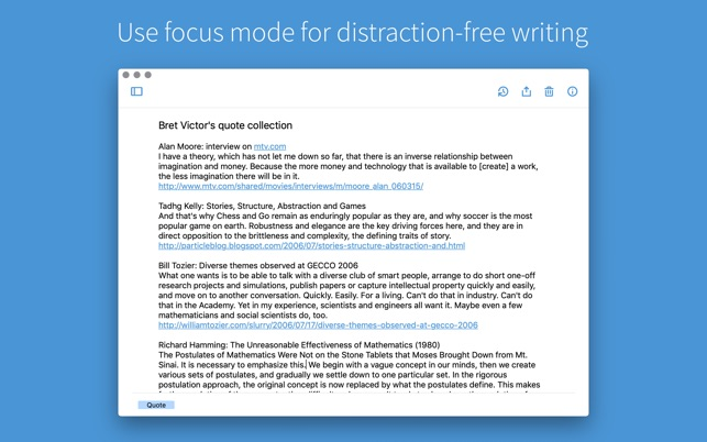 Image result for simplenote focusmode screenshots