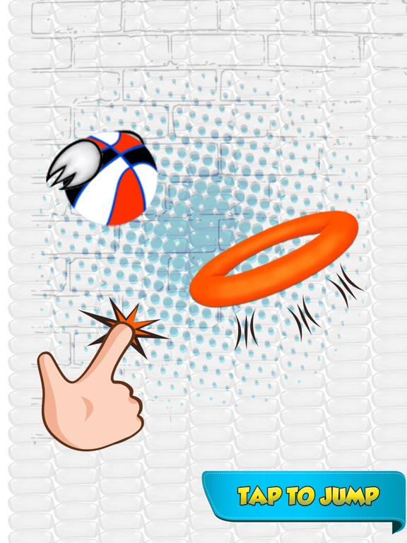 Dunk Ball Bird Game screenshot #1