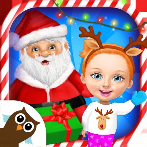 Sweet Baby Girl Christmas 2 icon