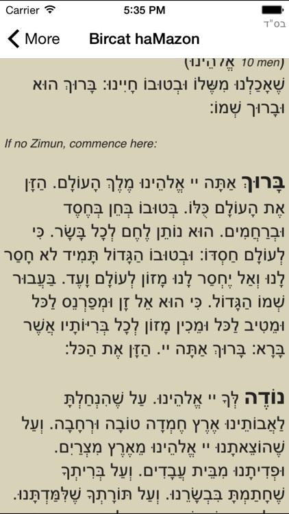 Jewish Calendar - CalJ screenshot-3