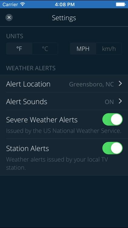 WFMY Radar screenshot-4