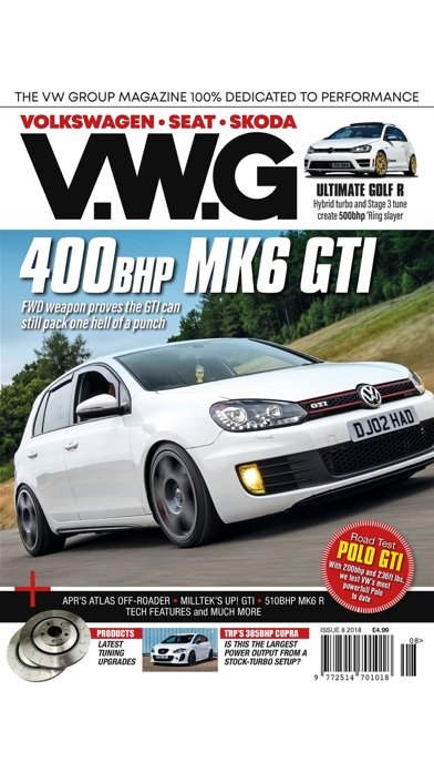 VWG Magazine screenshot 1