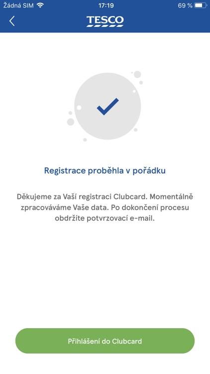 Clubcard Tesco Česko screenshot-7