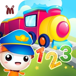 Fun Number Train Learning App