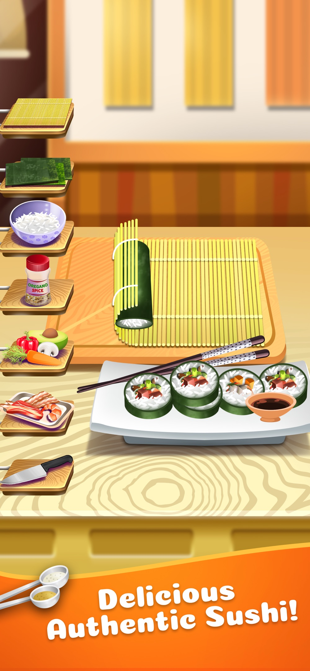 Sushi Food Maker Cooking Games Cheat Codes