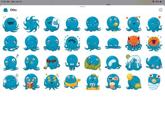 Octopus Cute Funny Stickers screenshot 4