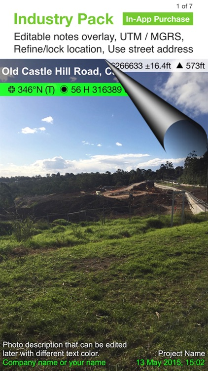 Solocator - GPS Field Camera screenshot-3