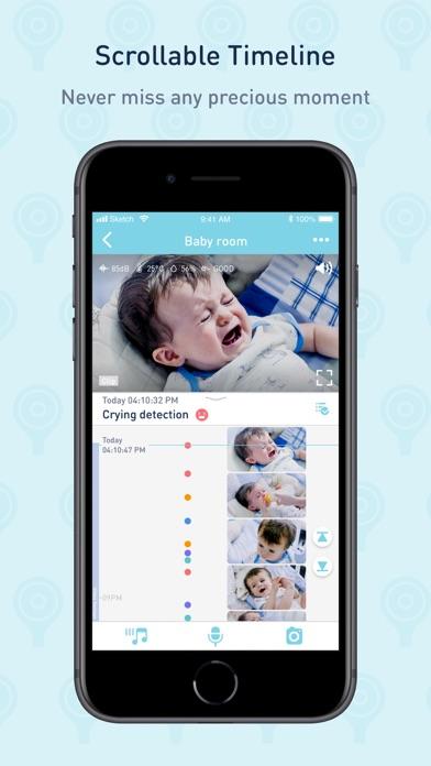 Screenshot #2 pour Lollipop- smart baby monitor