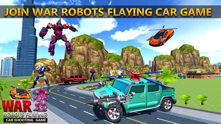 War Robots Flying Car Shooting