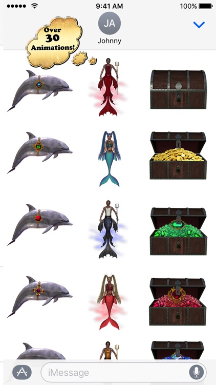 Where's the Dolphin Stickers screenshot-3