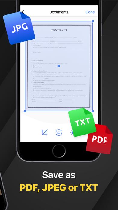 PDF Scanner App for iPhone Screenshot