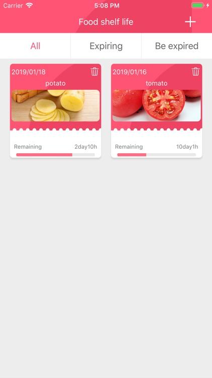Food shelf life-Healthy diet screenshot-3