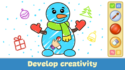 Screenshot for Drawing for kids: doodle games in United States App Store